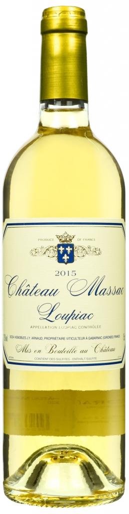Wino Château Massac LoupiacAOC 2015