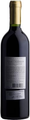 Wino Château Tour Chapoux Bordeaux Supérieur AOC