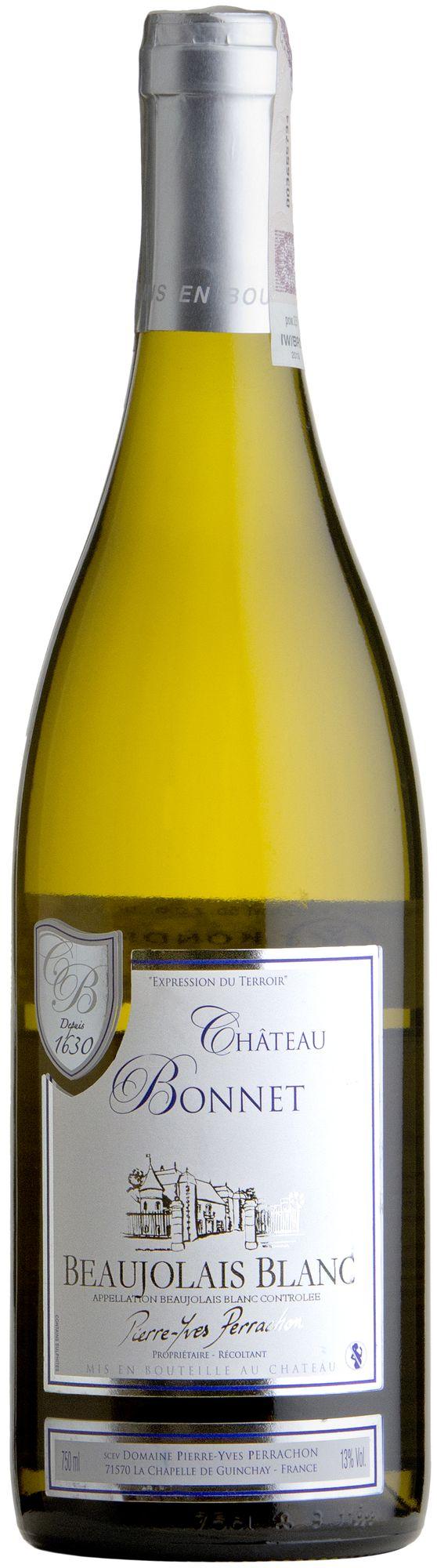 Wino Château Bonnet Chardonnay Tradition Beaujolais Blanc AOC