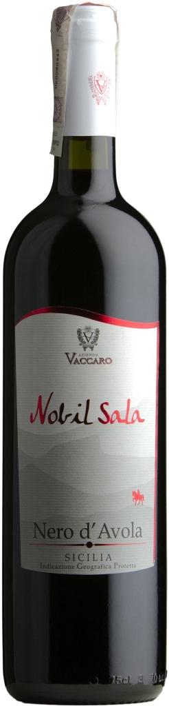 Wino Vaccaro Nobil Sala Nero d'Avola Sicilia IGT