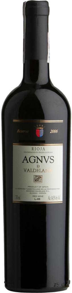 Wino Valdelana Agnus Reserva Rioja DOCa