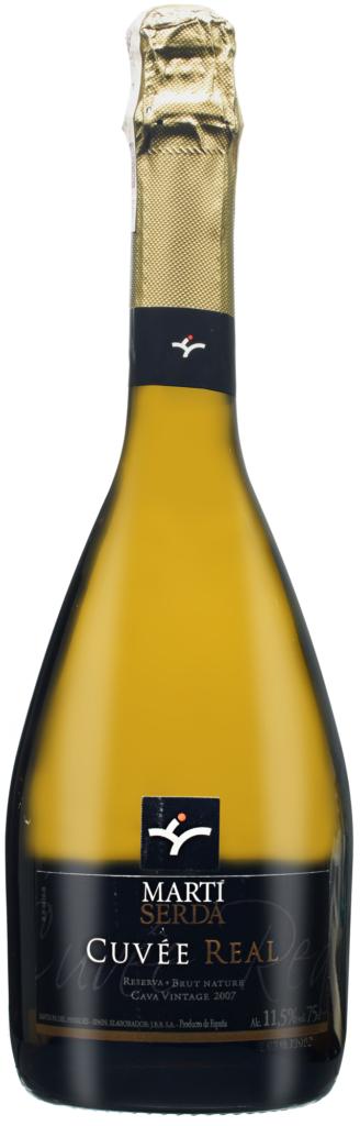 Wino Martí Serda Cava Vintage Cuvée Real Reserva Brut Nature