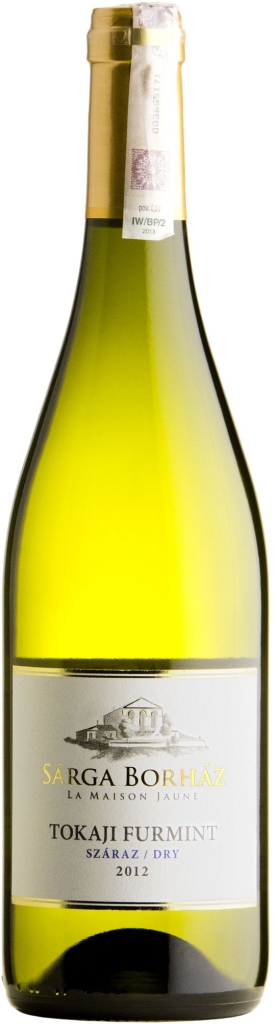 Wino Sarga Borhaz Dry Furmint Tokaji