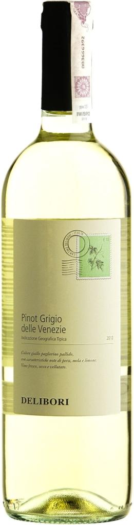 Wino Delibori Pinot Grigio Delle Venezie
