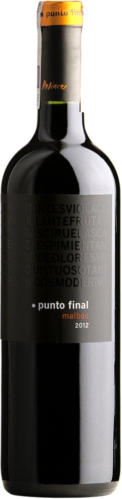 Wino Bodegas Renacer Punto Final Malbec Mendoza