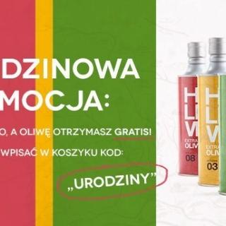 Zamów wino, oliwa gratis