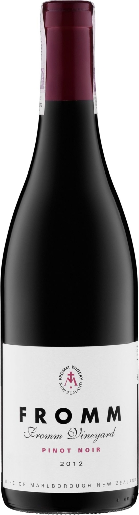 Wino Fromm Single Vineyard Pinot Noir Marlborough 2012