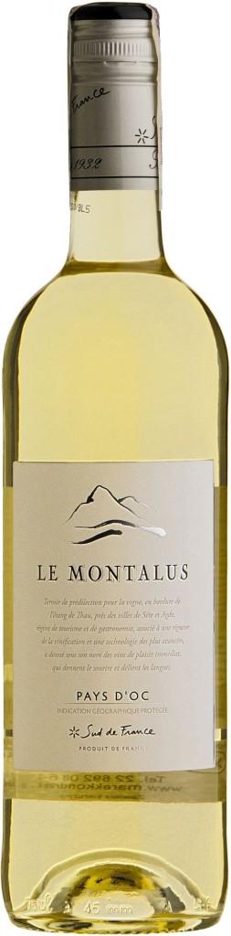 Wino Costières de Pomérols Le Montalus Blanc Pays d'Oc IGP