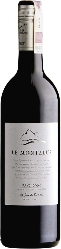 Wino Costières de Pomérols Le Montalus Rouge Pays d'Oc IGP 2017