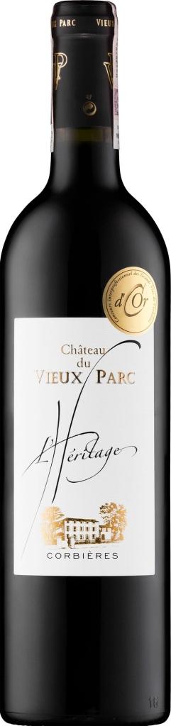 Wino Vieux Parc l'Heritage Rouge Corbières AOP 2017
