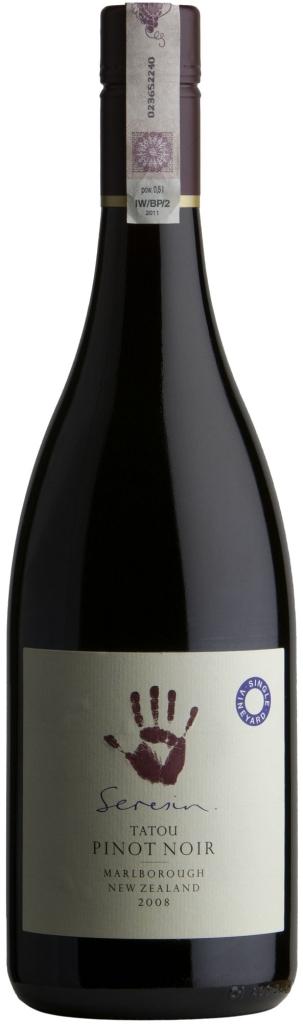 Wino Seresin Tatou Single Vineyard Pinot Noir Marlborough