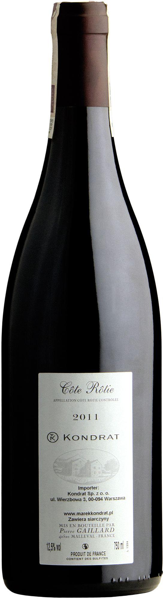 Wino Gaillard Cote Rotie AOC