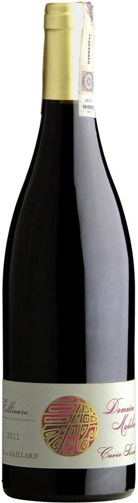Wino Gaillard Cuvee Serral Collioure AOC