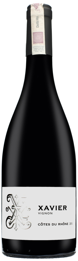 Wino Xavier Côtes du Rhône AOC 2015