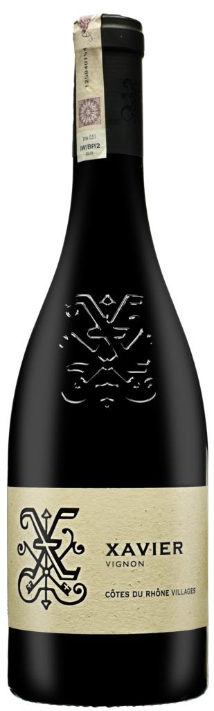 Wino Xavier Organic Côtes du Rhône Villages AOC 2017