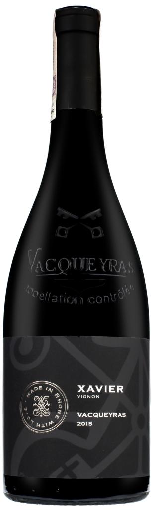Wino Xavier Vacqueyras AOC 2015