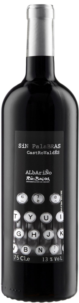 Wino Castrobrey Sin Palabras Albariño Rias Baixas DO