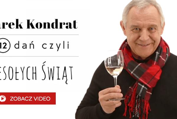 Marek Kondrat iwina na Wigilię