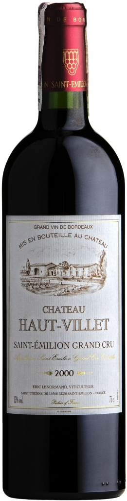 Wino Château Haut Villet, Saint-Emilion Grand Cru