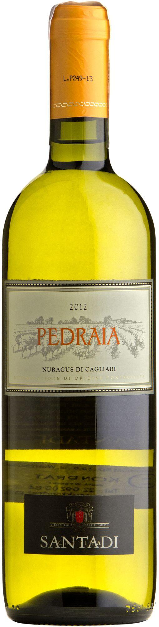 Wino Santadi Pedraia Nuragus di Cagliari DOC