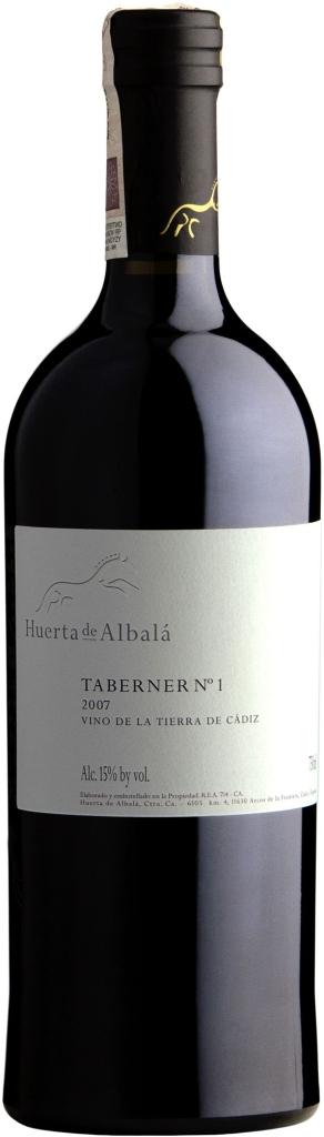 Wino Huerta de Albalá Taberner No1 Cádiz VdlT 2011