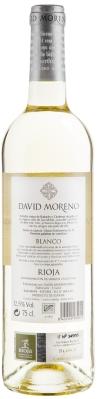 Wino David Moreno Blanco Joven Rioja DOCa