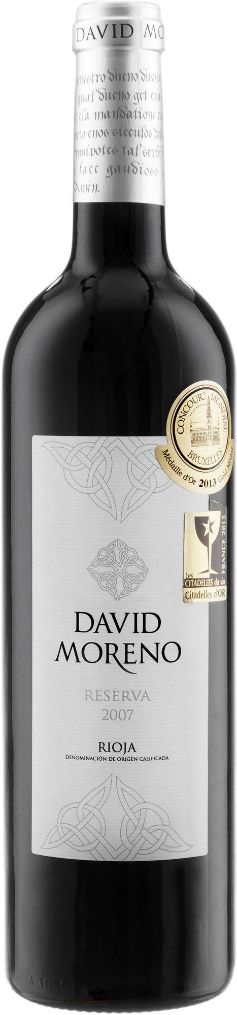 Wino David Moreno Reserva Rioja DOCa