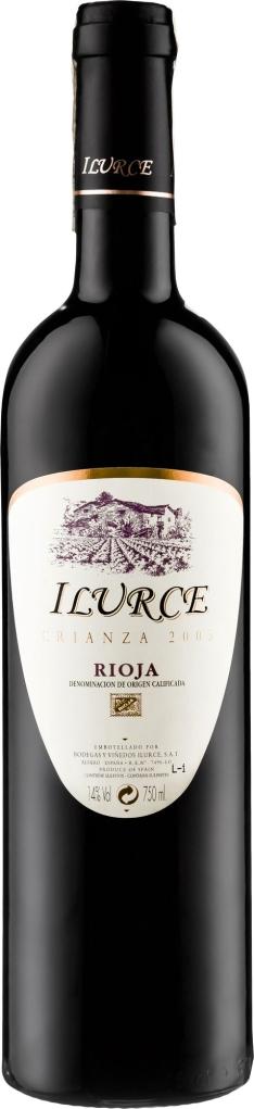 Wino Ilurce Crianza Rioja DOCa
