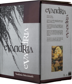 Bag-in-Box: Coloma Evandria Tinto Extremadura VdlT 3 l
