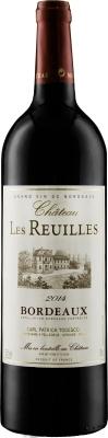 Wino Château Les Reuilles Rouge Bordeaux AOC 2017/2018