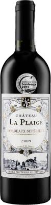 Wino Château La Plaige Bordeaux Superieur AOC 2017