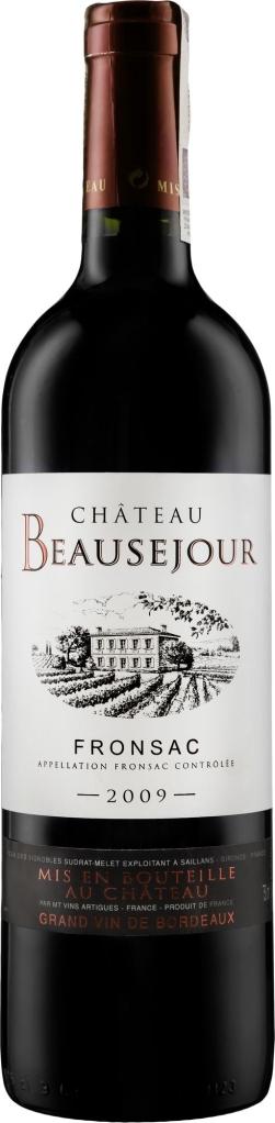 Wino Château Beauséjour Fronsac AOC