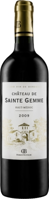 Wino Château de Sainte Gemme Haut-Médoc AOC Cru Bourgeois