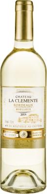 Wino La Clémente Moelleux Bordeaux AOC 2019