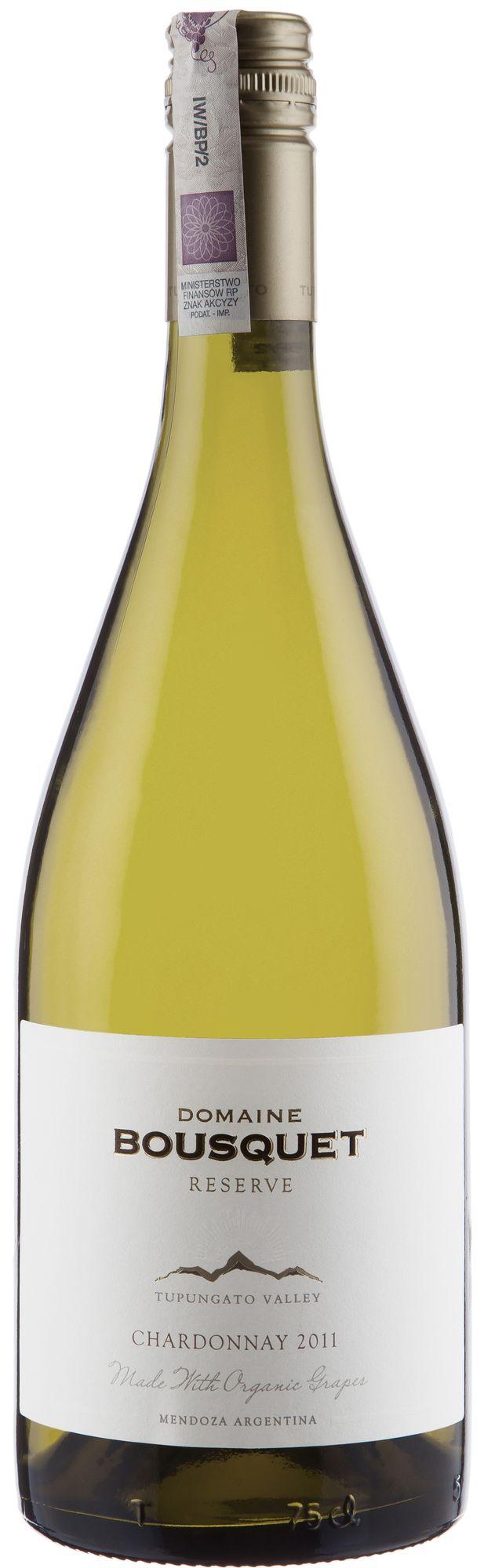 Wino Domaine Bousquet Reserva Chardonnay Tupungato