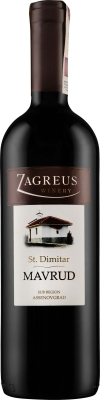 Wino Zagreus St. Dimitar Mavrud 2017