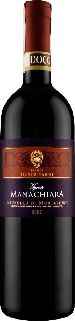 Wino S. Nardi Vigneto Manachiara Brunello di Montalcino DOCG 2006