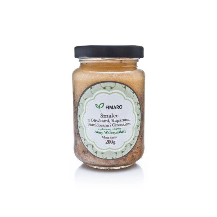 Fimaro smalec z oliwkami i kaparami