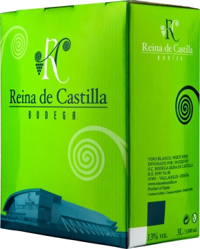 Bag-in-Box: Reina de Castilla Blanco 3 l