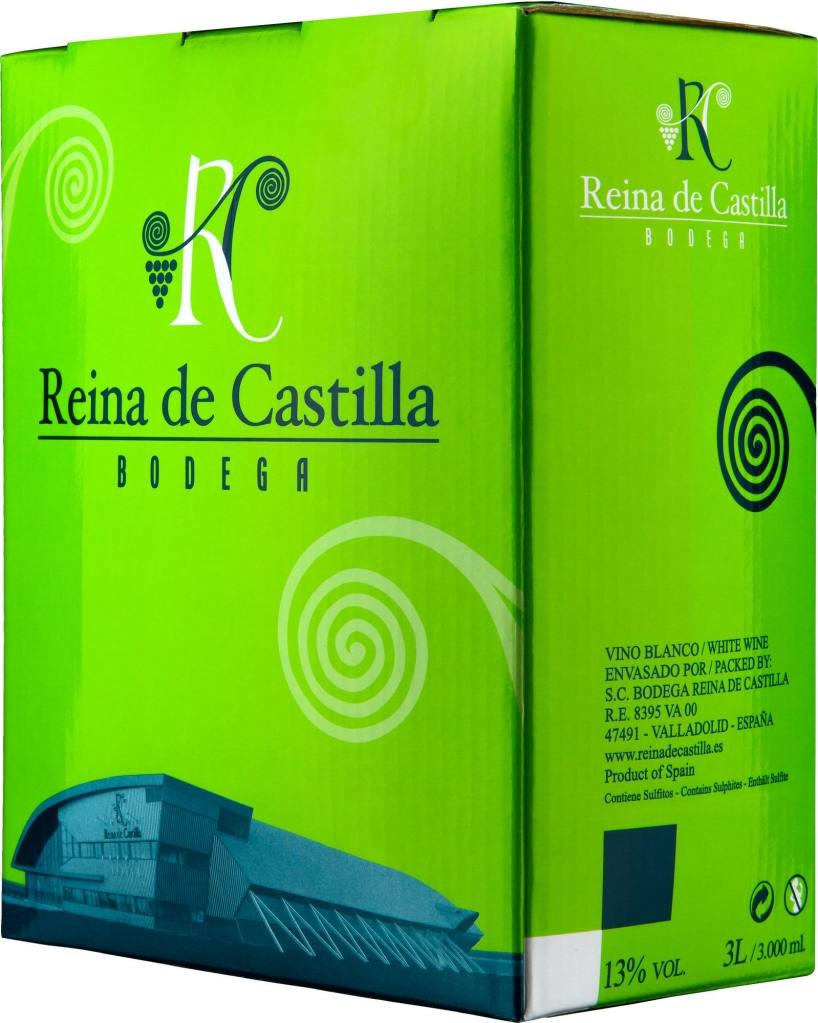 Wino Bag-in-Box: Reina de Castilla Blanco 3 l