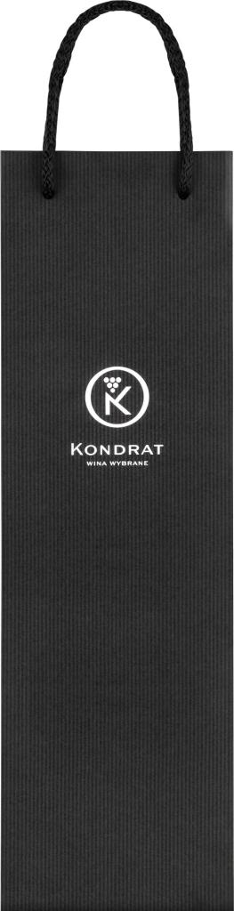 Torba papierowa czarna z logo