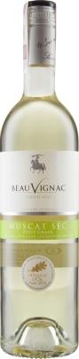 Wino Costières de  Pomérols Beauvignac Muscat Sec Pays d'Oc 2016