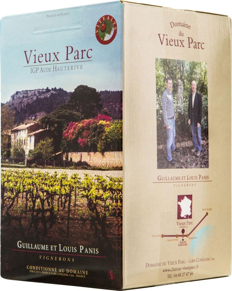 Wino Bag-in-Box: Vieux Parc Amandiers Hauterive IGP
