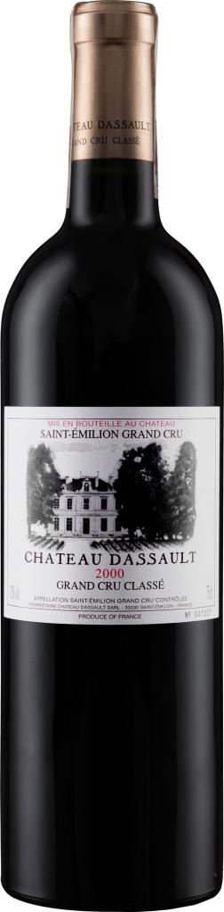 Wino ChâteauDassault Saint-Emilion AC Grand Cru Classé 2000