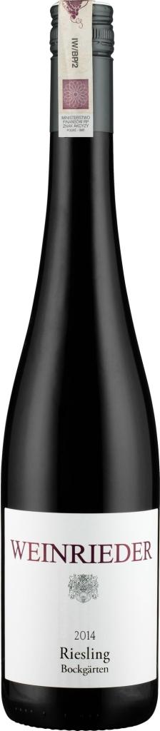 Wino Weinrieder Riesling Bockgärten Weinviertel 2015