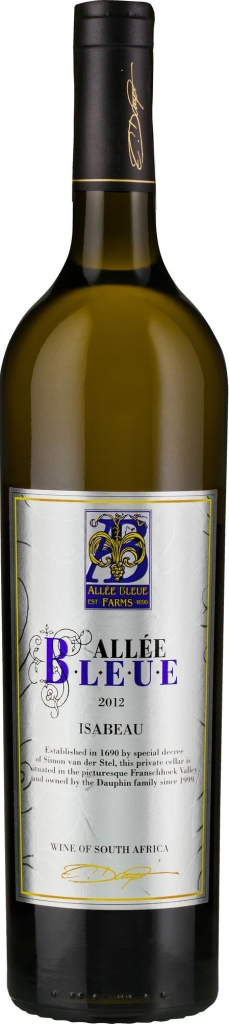 Wino Allée Bleue Isabeau Franschhoek WO
