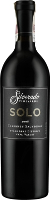 Wino Silverado Solo Cabernet Sauvignon Stags Leap District Napa Valley