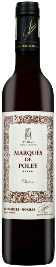 Wino Toro Albalá Marques de Poley Oloroso Viejo Montilla-Moriles DO 500 ml