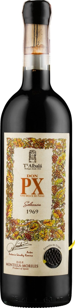 Wino Toro Albalá Don P.X. Seleccion Montilla-Morilles DO 1969