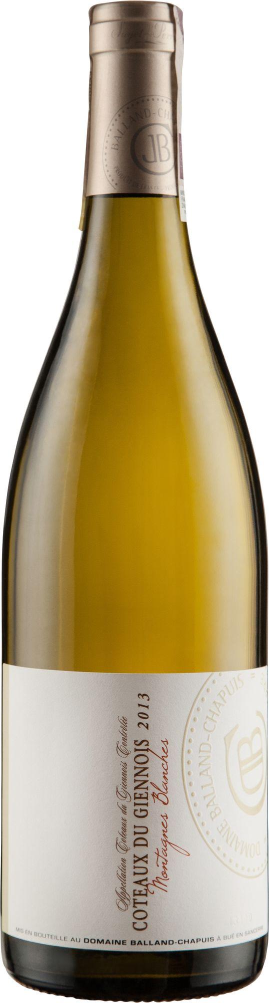Wino Balland-Chapuis Sauvignon Coteaux du Giennois AC